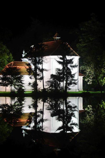 Kościółek na wodzie