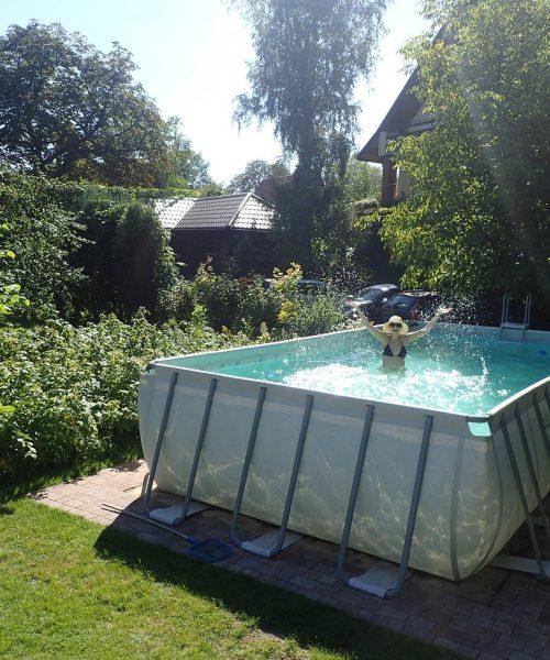 ogród - basen